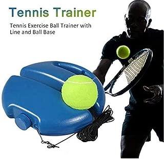 Bigsweety Tennis Trainer Rebounder Ball Perfect Solo Tennis Trainer Outdoor Tennis Trainer with Imitation Tennis Design