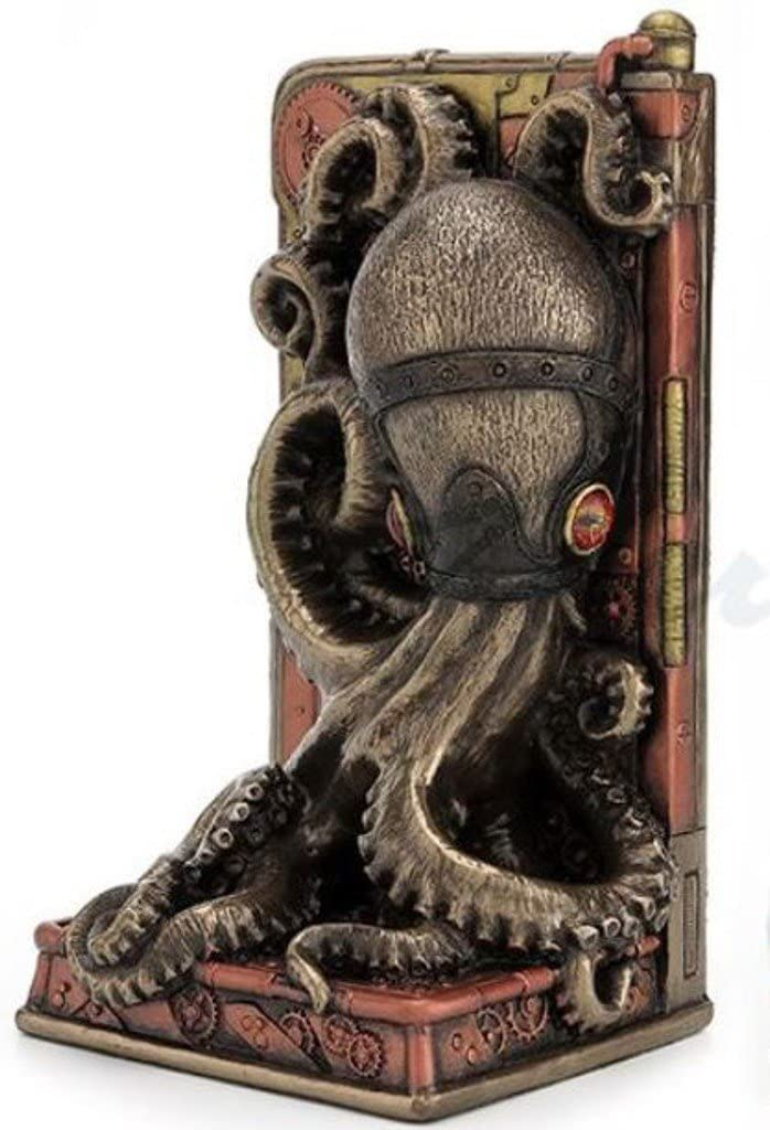 Steampunk Metallic Bronze Copper Booke Max Spasm price 43% OFF Octopus Single Finished