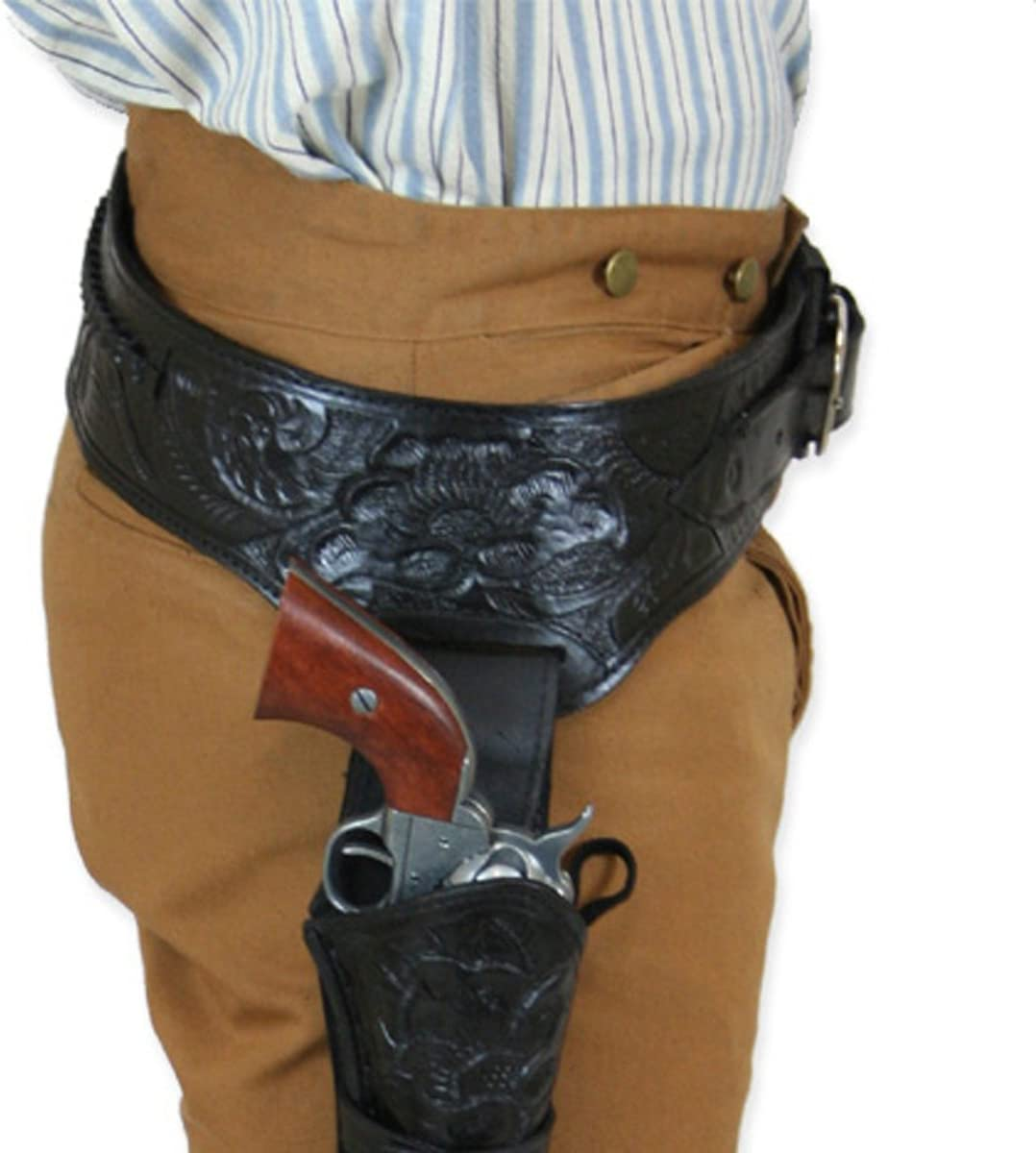Historical Max 60% OFF Emporium Men's Right Hand Tooled Leather Gun Phoenix Mall Western