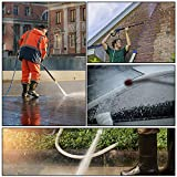 Yeemoutylo Pressure Washer Tips Turbo Nozzle Pressure Washer 3000 PSI Max Rotating Pressure Washer Nozzle with 1/4'' Quick Connect for Cleaning Brick, Concrete, and Vinyl Surfaces
