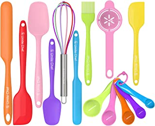 Silicone Spatula 14-piece Set, Umite Chef Mini Rubber Spatula Set-Versatile Tools Created for Baking and Mixing-One Piece ...
