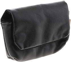 MERIGLARE BBK-M12S Bolsa de Armazenamento Da Câmera para //olympus/ricoh Etc - Preto, Tamanho real