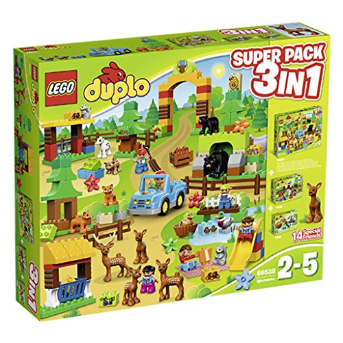 Lego Duplo 66538 - Wildpark - Superpack 3in 1