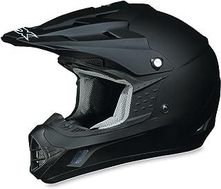 AFX FX-17 Unisex-Adult Off-Road-Helmet-Style Helmet (Flat Black, Large) - 0110-1753