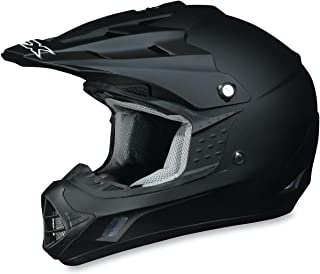 AFX FX-17 Solid Helmet , Size: XL, Primary Color: Black, Helmet Type: Offroad Helmets, Helmet Category: Offroad, Distinct Name: Flat Black, Gender: Mens/Unisex 01101754