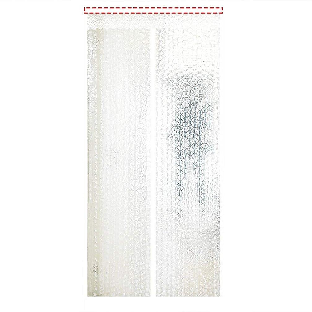 法律により幅アプローチ磁気スクリーンドアカーテン 防虫ドアエアコン気密ドアカーテン防蚊分離ヒューム保温?防風簡単設置隙間なし JFIEHG (色 : F, サイズ : 150x240)