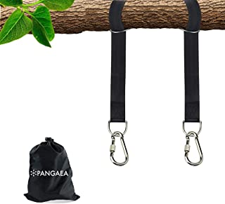 PANGAEA Tree Swing Hanging Straps Kit, Heavy Duty Holds 2200LBS Extra Long, with Safer..
