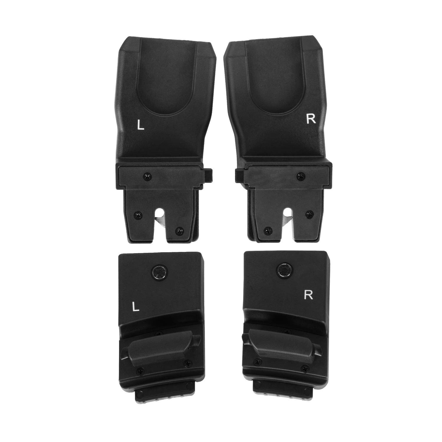 Maclaren atom Car Seat Adaptor Maxi Cosi and Cybex- Fits Maxi Cosi and Cybex infant car seats. The adaptor easily clicks into the base of the atom stroller and the car seat's latching mechanism