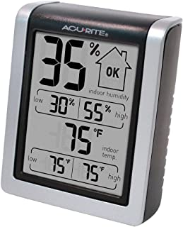 AcuRite 00613 Indoor Thermometer & Hygrometer with...