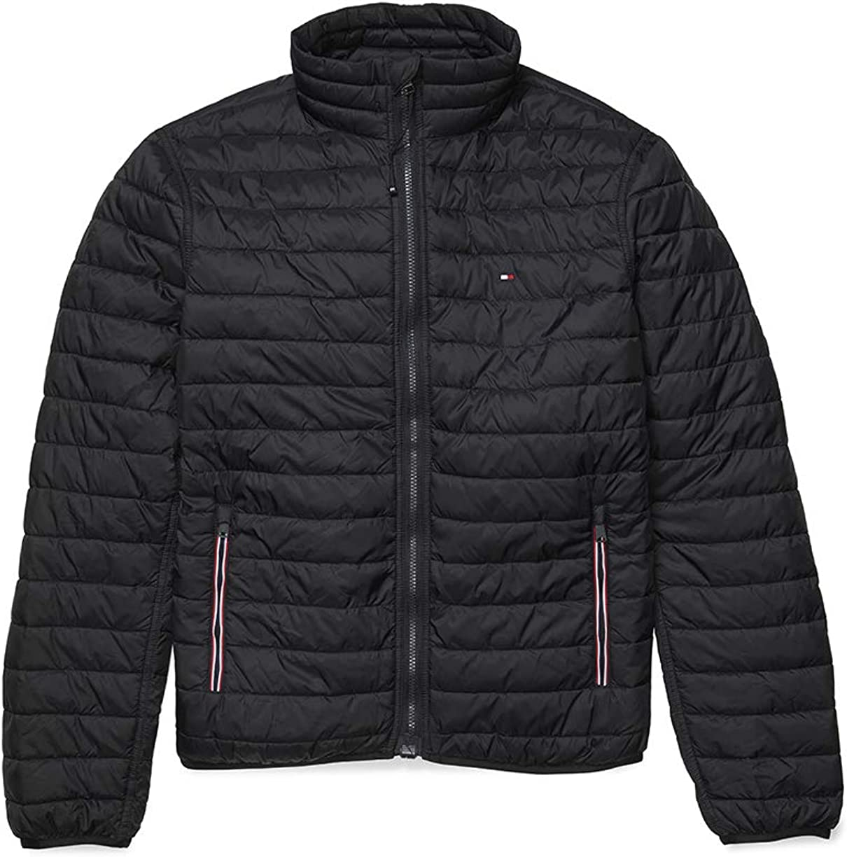 Tommy Hilfiger Men's Adaptive Insulator Jacket with Magnetic Zipper