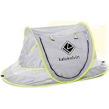 b/éb/é Pop-up Automatique Tente de Plage Kalokelvin Tentede Plage de Berceau Portable Lit de Voyage pour b/éb/é