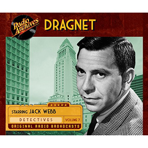 Dragnet, Volume 7 cover art