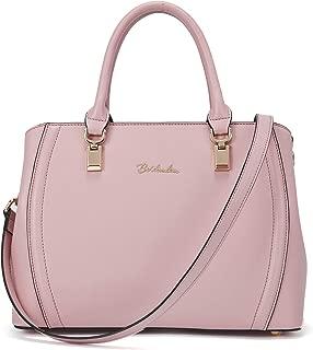 Women Leather Handbag Designer Top Handle Satchel Shoulder Bag Crossbody Purses