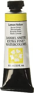 DANIEL SMITH Extra Fine Watercolor 15ml Paint Tube, Lemon Yellow