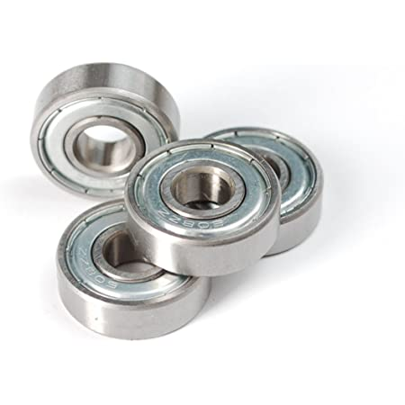 Invento 608ZZ_2 5 Pieces 8x22x7mm 8mm Radial Bearings, 3D Printer or Robotics or DIY Projects