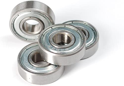 Invento 608ZZ_3 10 Pieces 8x22x7mm 8mm Radial Bearings, 3D Printer or Robotics or DIY Projects