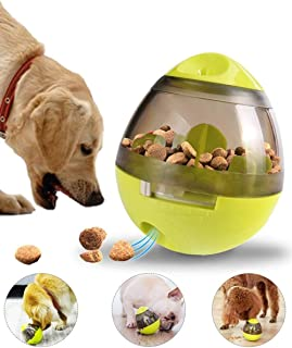 Treat-Dispensing Ball Interactive Food Dispenser Ball Toy Dog Toy Treat Ball for Small Medium Dogs Boredom Puzzle Toys