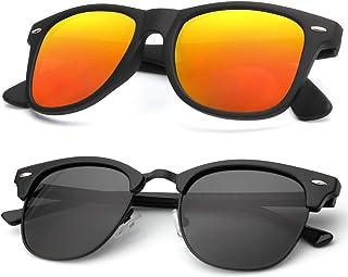 Women Fashion Metal Sunglasses Men Retro Small Square High Quality Sun Glas EV