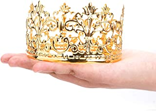 gold crowns for baby shower