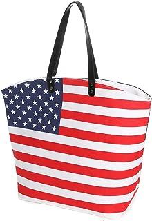 Large Baseball Tote Bag Sports Prints Utility Tote Beach Bag Travel Bag