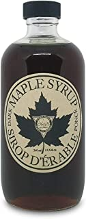 Sinai Gourmet PURE GRADE A MAPLE SYRUP - Grade A DARK SYRUP with STRONG delicious maple taste