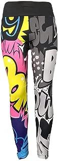 Women Leggings Cartoon Boom Printing Stretch Girls Leggings Punk Rock Fashion Pants