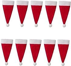 NC Chapéu Do Natal Suprimentos de Natal Ornamentos Titular de Talheres de Cutelaria