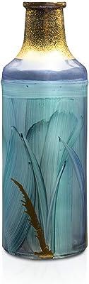 Angela Neue Wiener Werkstätte Vase en Verre coloré Shabby Aqua - 7 cm