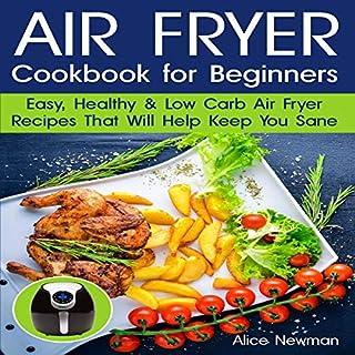 Air Fryer Cookbook for Beginners audiobook cover art