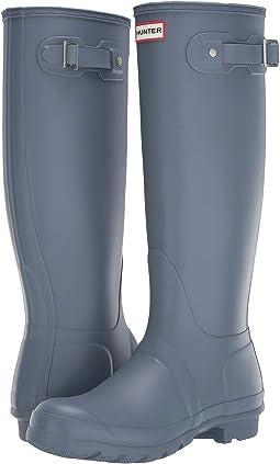 2ea6c3864072 Hunter original back adjustable gloss rain boots