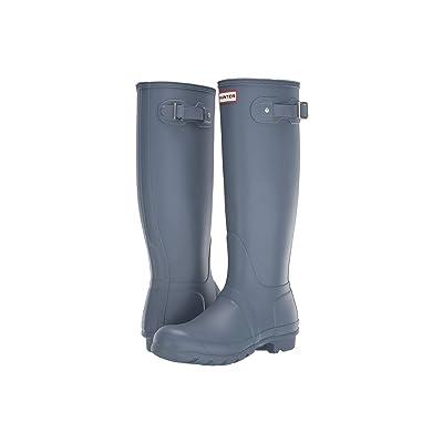Hunter Original Tall Rain Boots (Gull Grey) Women
