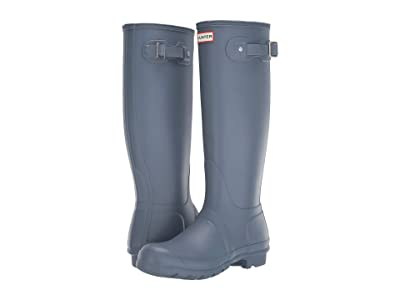 Hunter Original Tall Rain Boots (Gull Grey) Women