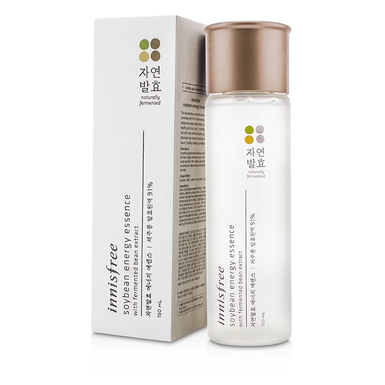 シンプルさ若者反動[Innisfree] Soybean Energy Essence 150ml/5.07oz