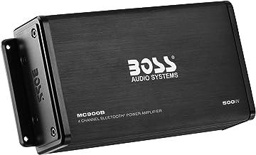 BOSS Audio Systems MC900B 4 Channel Weatherproof Amplifier – Bluetooth, 500 Watts,..