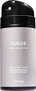 Bath and Body Works Suede Men's Deodorizing Body Spray 3.7 Ounce Full Size - coolthings.us