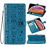 Oihxse Portefeuille PU Coque pour Samsung Galaxy Note 9 Cuir Flip Folio Magnétique 360° Protection...