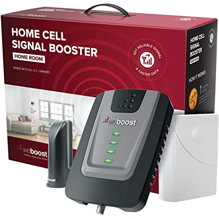 weBoost Home Room (472120) Cell Phone Signal Booster, FCC Approved, All U.S. Carriers - Verizon, AT&T, T-Mobile, Sprint & More, USA Company