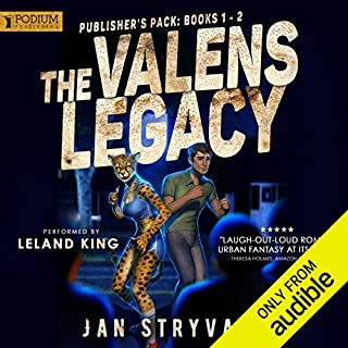 The Valens Legacy                   By:                                                                                                                                 Jan Stryvant                               Narrated by:                                                                                                                                 Leland King                      Length: 11 hrs and 13 mins     2,301 ratings     Overall 4.6