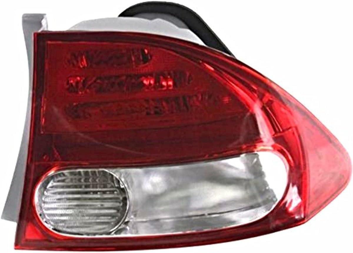VAM Fits 09-11 Ho 正規販売店 Civic 特価品コーナー☆ Sedan Tail Passenger Light Housing Right