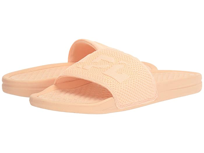 Athletic Propulsion Labs (APL)  Big Logo Techloom Slide (Faded Peach) Womens Slide Shoes