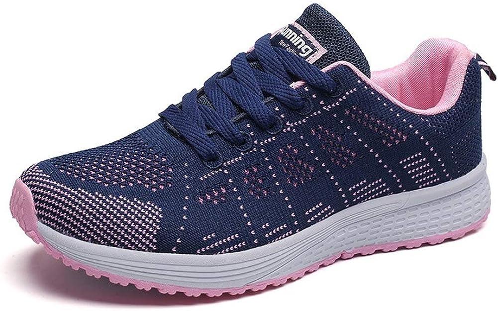 Zapatillas Deportivas Mujer Sneakers Zapatos para Correr para Niña Mujeres Running Zapatos Casuales de Mujer Ligero Respirable