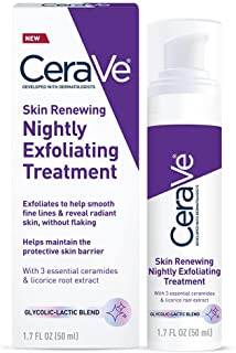 CeraVe Anti Aging Face Serum with Glycolic Acid, Lactic Acid, and Ceramides   Dark Spot Corrector for Face   1.7 Ounce
