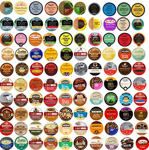 Sensational 100 cup 2.0 Super Sampler Pack, Coffee, Tea, Cocoa, a bit of everything!