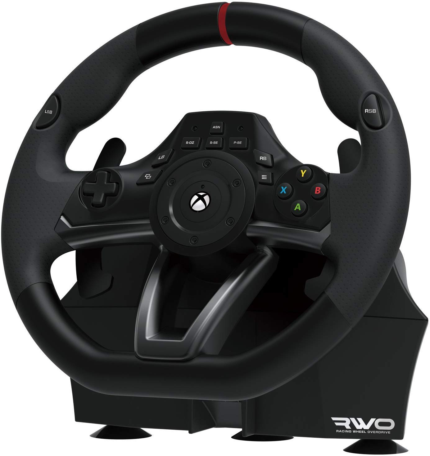 Hori Racing Wheel Overdrive For Xbox One Officially Licensed By Microsoft Amazon Sg Video Games