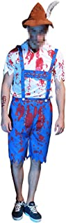 Mutrade Men's Zombie Oktoberfest Costume Beer Blooded Beer Guy Costumes