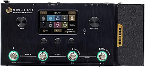 Hotone Ampero MP-100 Guitar Bass Amp Modeling IR Cabinets Simulation Multi Language Multi-Effects with Expression Pedal St...