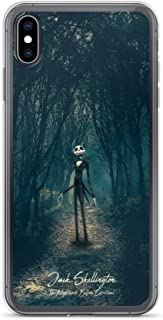 iPhone 7 Plus/8 Plus Case Anti-Scratch Motion Picture Transparent Cases Cover The Nightmare Before Christmas Jack Skellington Movies Video Film Crystal Clear