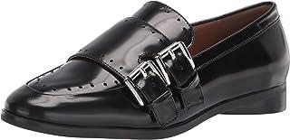 حذاء Gabbie Loafer نسائي مسطح من Aerosoles مصنوع من جلد أسود، مقاس 7