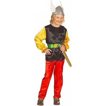 WIDMANN Widman - Disfraz de asterix para niño, talla M (8-10 años ...