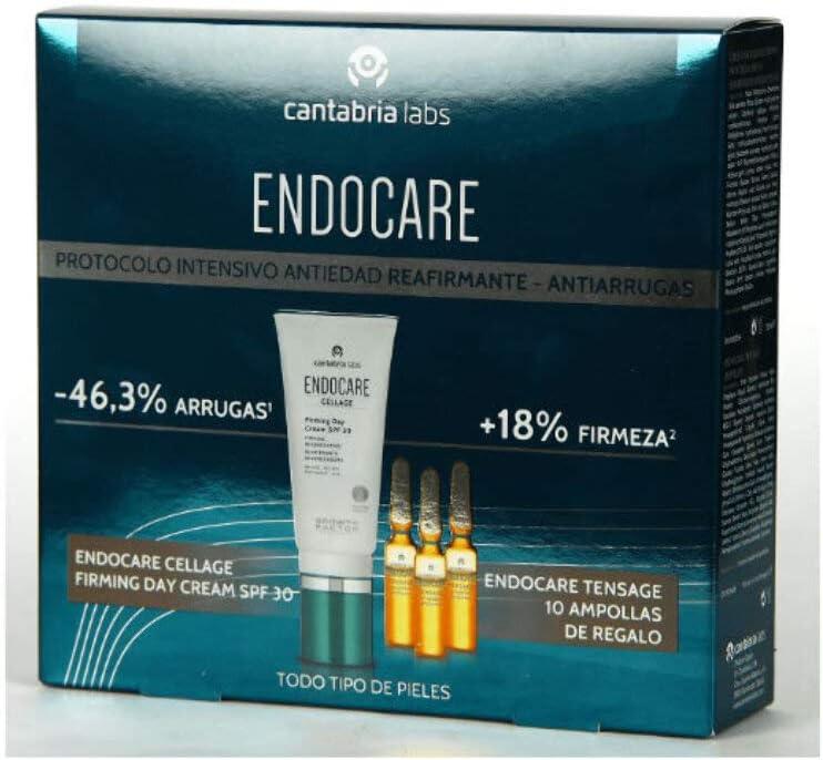 Endocare Cellage Firming Day Cream SPF 30 Reafirmante Regeneradora, 50ml+REGALO Tensage 10 Ampollas